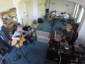 Jack Casady-Daniel Masson, Yair Dal - recording session