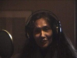 Bibi Russel at Daniel Masson recordings studio