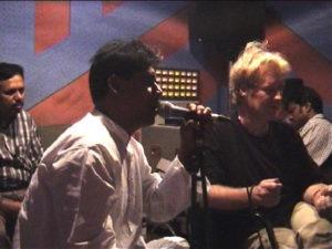 Bari Siddiqui_Daniel Masson_recording sessions at Dahka_Bangladesh